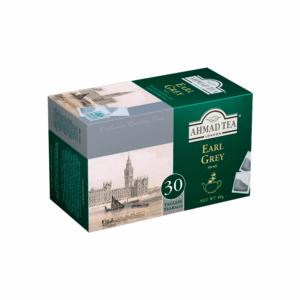Чай Ahmad tea Earl Grey черный 30 пак. картон
