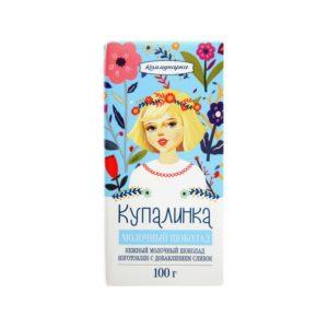 Шоколад Коммунарка Купалинка Молочный 100 гр