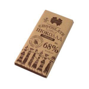 Шоколад Коммунарка Крафт Горький 68% 90 гр