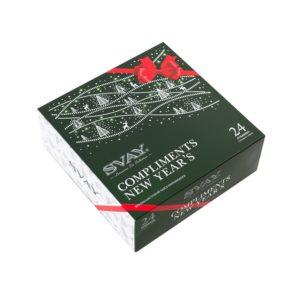 Чай Svay Compliments NEW YEAR'S ассорти 24 пирам. картон