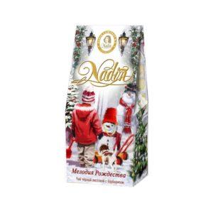 Чай Надин Мелодия Рождества черный 50 гр картон