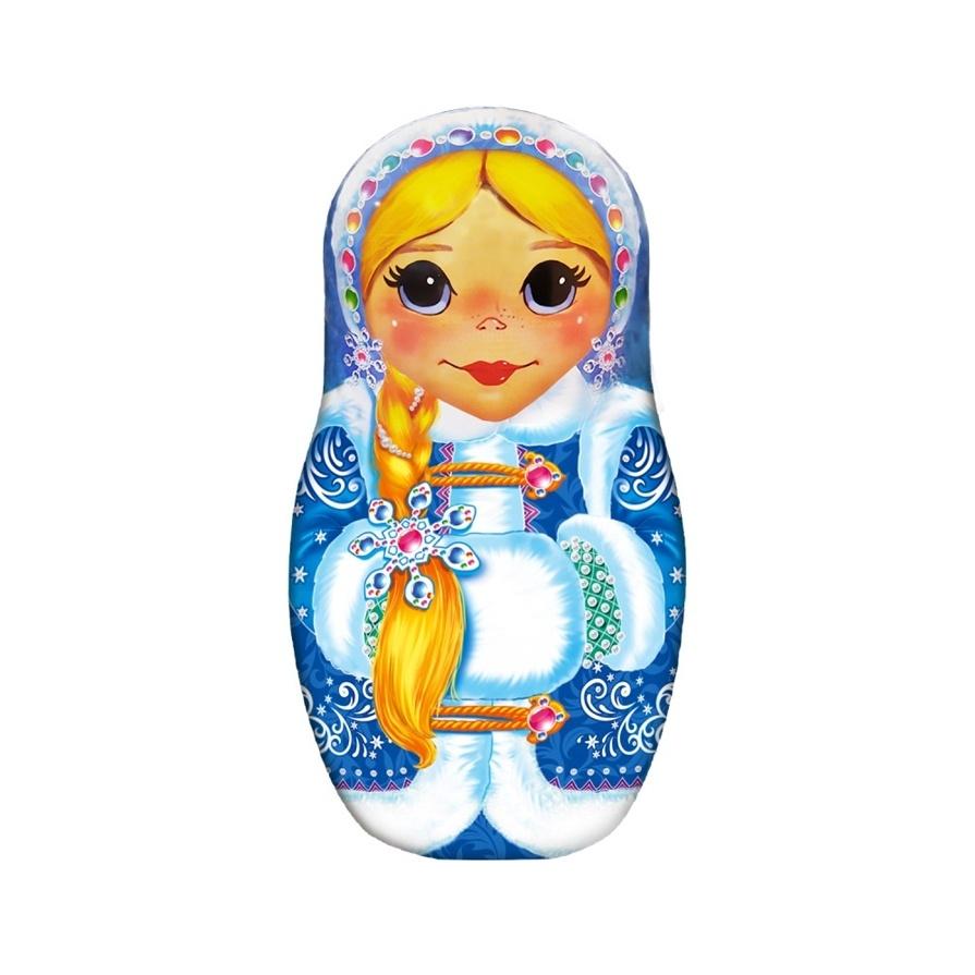Чай ИМЧ Матрешка-Снегурочка черный 50 гр ж/б