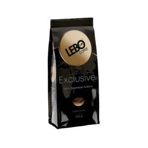Кофе LEBO Exclusive в зернах 250 гр м/у