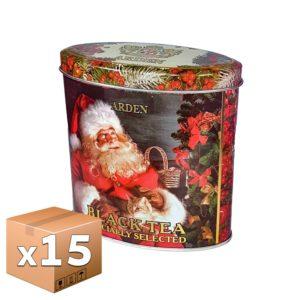 Чай Arden Новогодний овал черный 100 гр ж/б микс (15 шт)