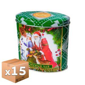Чай Arden Чайный гость Вязанка черный 100 гр ж/б микс (15 шт)
