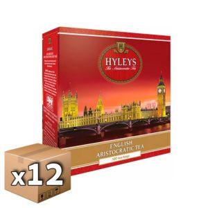 Чай черный Hyleys Английский аристократический 100 пакетиков (12 шт)