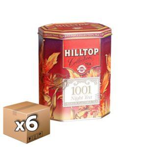 Чай черный Хилтоп восьмигранник 1001 Ночь 100 гр (6 шт)